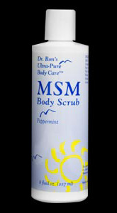 Dr. Ron's Natural, Chemical-Free MSM Body Scrub