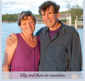 Dr. Ron and Elly in Key Largo