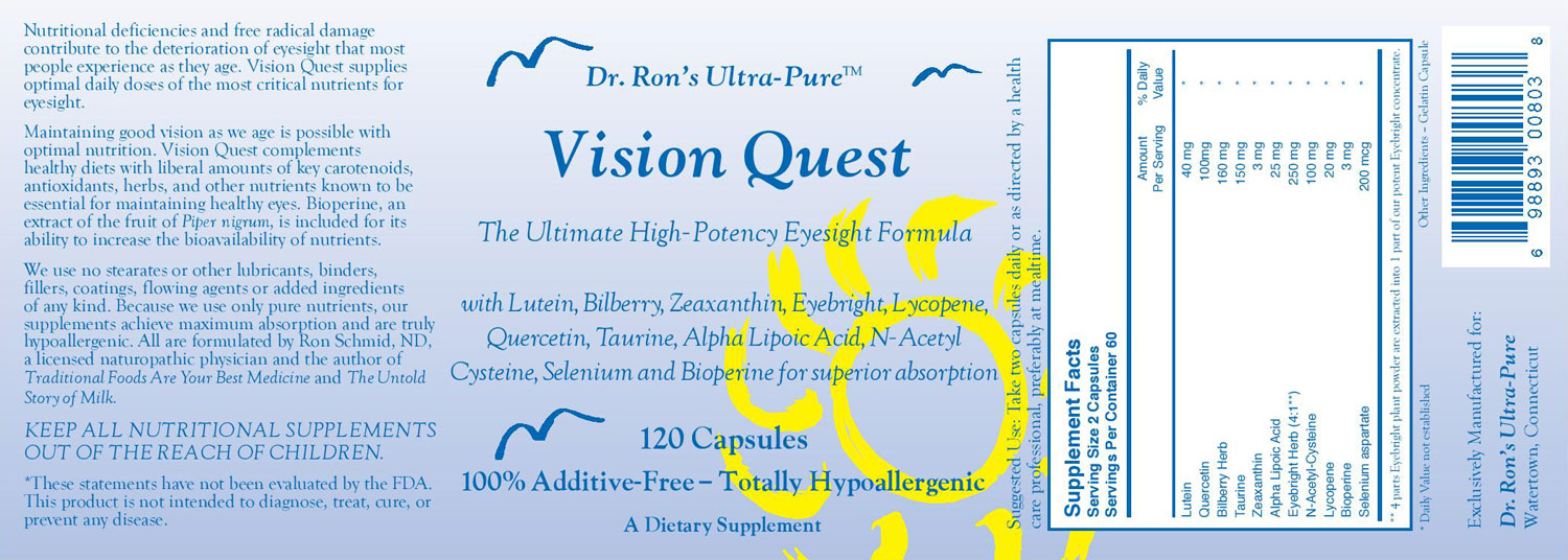 Vision Quest Label