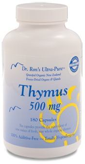 Dr. Ron's Freeze-Dried New Zealand Thymus