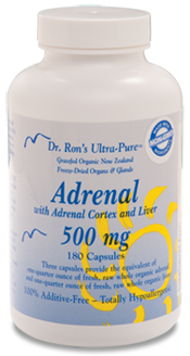 Dr. Ron's Freeze-Dried New Zealand Adrenal