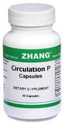 Circulation P 45 Caps 500mg Zhang Chinese herbals, Chinese herbal extracts, Dr. Zhang, Chinese medicine, Circulation-P Capsules, Allicin, Artemisiae, Puerarin
