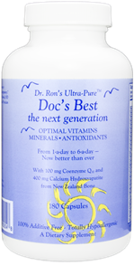 Doc's Best:  The Next Generation. Optimal Vitamins, Minerals and Antioxidants, 180 capsules - 26