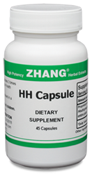 HH Capsules 45 Caps 250mg Dr. Zhangs HH Capsules, Zhang Chinese herbals, Chinese herbal extracts, Dr. Zhang, Chinese medicine, Allicin, Artemisiae, Puerarin