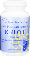 Krill Oil, Wild Antarctic, 60 caps 1000mg Krill oil, astaxanthin, Dr. Ron's, Dr. Ron Schmid, Weston Price, traditional nutrition, optimal nutrition, native-nutrition