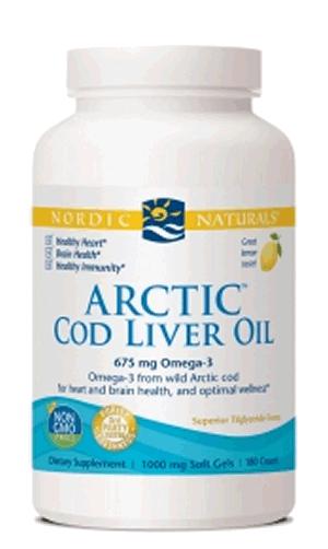 Nordic Naturals Cod Liver Oil Weston Price