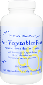 Sea Vegetables Plus: Nutrients for a Healthy Thyroid, 180 capsules - 30