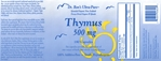 Thymus, grassfed New Zealand freeze-dried organs & glands, 180 capsules - 39