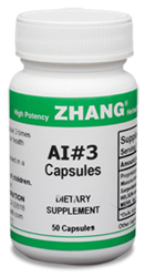 AI#3, 50 capsules Zhang Chinese herbals, Chinese herbal extracts, Dr. Zhang, Chinese medicine, AI#3 Capsules, Allicin, Artemisiae, Puerarin