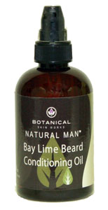 Bay Lime Beard Conditioning Oil, 4 oz.