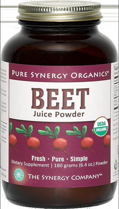 Synergy Company Beet Juice Powder 6 35 Oz 437