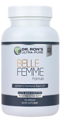 Belle Femme: Nutrients for Hormonal Balance, 120 capsules Chaste Tree, Dong Quai, Wild Yam, Black Cohosh, Indole-3-Carbinol, menstrual problems, infertility, cystic breasts, cancer, reproductive system, menopause