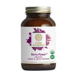 Berry Power, Organic, 5.3 oz Organic berry powder, berry power, superfruit