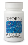 Bio-B12: 1000 mcg B12 and 800 mcg Folate, 60 capsules, Thorne