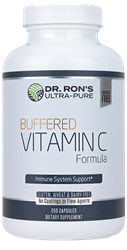 Buffered Vitamin C, 500 mg, 250 capsules Buffered Vitamin C, additive-free supplements, ascorbic acid, Alpha Lipoic Acid, universal antioxidant, immune system