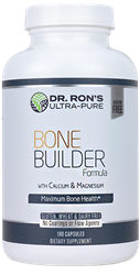 Bone Builder, 180 capsules additive-free supplements, Microcrystalline hydroxyapatite concentrate, calcium, magnesium, bone health, MCHC, Grassfed New Zealand Cattle, Bone Builder, cholecalciferol, calcium 1000