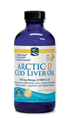 Cod Liver Oil, Nordic Naturals,  Artic - D, Lemon, 8 oz