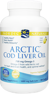 Cod Liver Oil, Nordic Naturals, Artic, Softgels, 180 ct