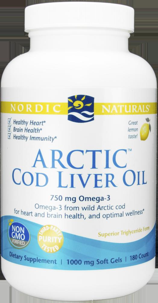 Nordic Naturals Cod Liver Oil Capsules