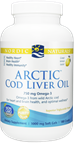 Cod Liver Oil, Nordic Naturals, Artic, Softgels, 180 ct - 451