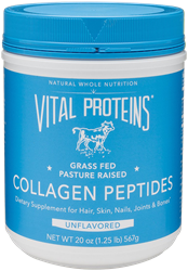 Collagen Peptides, 20 oz. Collagen Peptides, joint health, healthy bones, Collagen