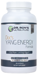 Docs Yang Energy, 500 mg, 180 capsules Docs Yang Energy, Panax ginseng,Fenuside, Dr. Rons, Dr. Ron Schmid, Weston Price, traditional nutrition, optimal nutrition, native-nutrition