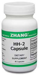HH-2 Capsules, 45 capsules Dr. Zhangs HH Capsules, Zhang Chinese herbals, Chinese herbal extracts, Dr. Zhang, Chinese medicine, Allicin, Artemisiae, Puerarin, HH2, hh2