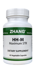 HH-M Capsules 45 Caps 250mg Dr. Zhangs HH Capsules, Zhang Chinese herbals, Chinese herbal extracts, Dr. Zhang, Chinese medicine, Allicin, Artemisiae, Puerarin, HH2, hh2