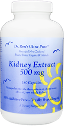 Kidney, 180 capsules grassfed organs, glands, Spleen, Liver, Heart, Brain, Thymus, Kidney, Pancreas, Adrenal with Cortex, Testicle, Ovary, superfood