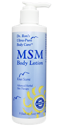 MSM Body Lotion, Kiwi, 8 oz. lotion, body lotion, MSM lotion, MSM, Coenzyme Q10, chemical-free body care, DMAE, Alpha Lipoic Acid, ALA, Alpha Lipoic Hydrating lotion, MSM body lotion