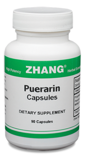 Puerarin, 90 capsules Zhang Chinese herbals, Chinese herbal extracts, Dr. Zhang, Chinese medicine, Puerarin Capsules, Circulation-P Capsules, Allicin, Artemisiae, Puerarin