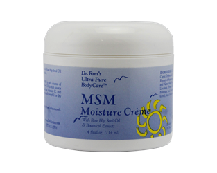 MSM Moisture Creme, 4 oz Chemical-free body care, Anti-Aging, moisturizer, facial, cream, anti-ageing crème, MSM, alpha lipoic acid, ALA, Shea Butter, Coenzyme Q10, DMAE