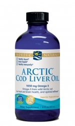 Cod Liver Oil, Nordic Naturals, Artic , Plain, 8 oz